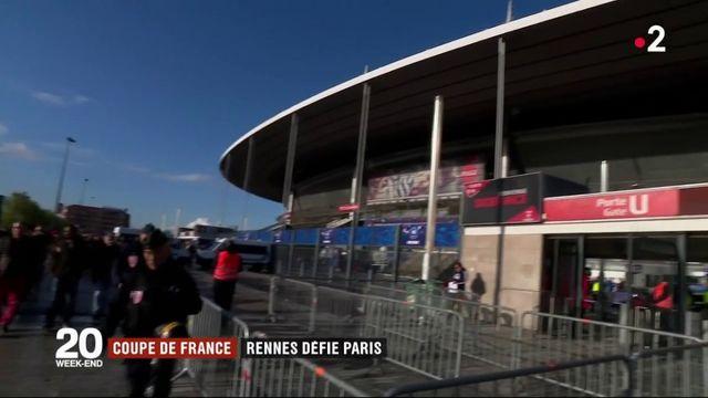Football : Rennes défie le PSG en finale de Coupe de France