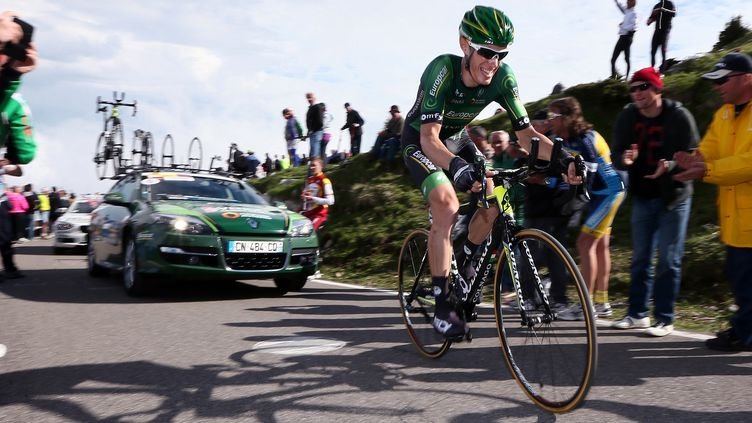 Pierre Rolland a terminé au pied du podium du Giro 2014 (DE WAELE TIM / TDWSPORT SARL)
