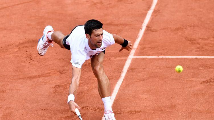 Novak Djokovic a beaucoup souffert face à Diego Schwartzman (MUSTAFA YALCIN / ANADOLU AGENCY)