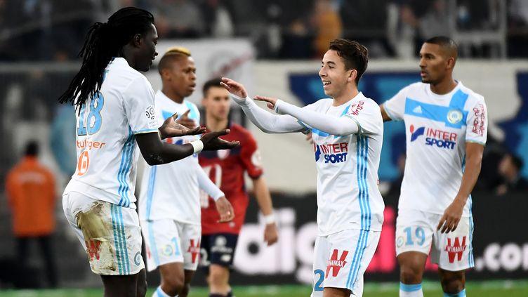 L'Olympique de Marseille aura encore un match difficile à livrer   (ANNE-CHRISTINE POUJOULAT / AFP)
