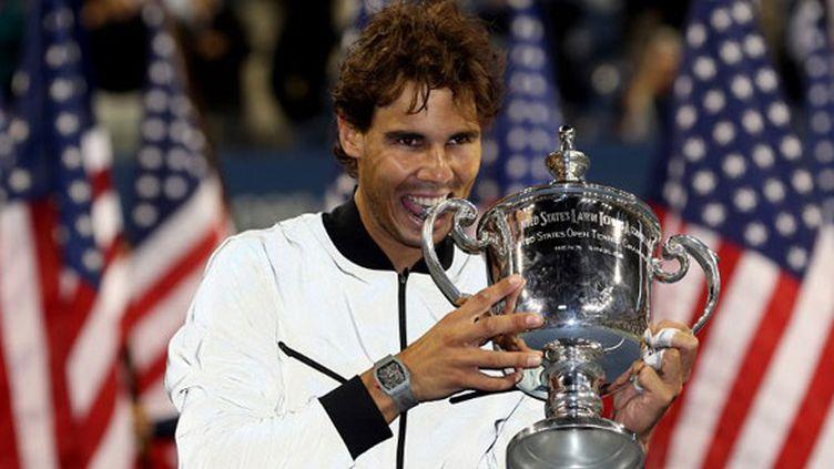 Le joueur espagnol, Rafael Nadal