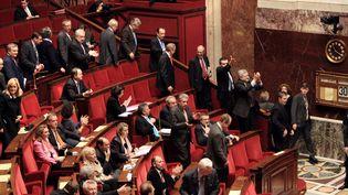 Beaucoup de députés UMP craignent que les Français voient avant tout dans la TVA sociale une baisse de leur pouvoir d'achat. (JACQUES DEMARTHON / AFP PHOTO)