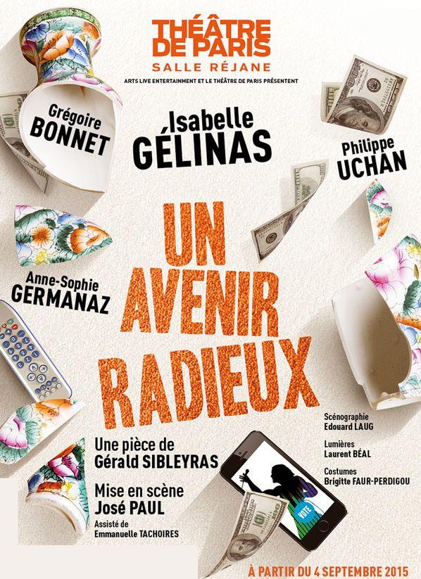 """""""Un avenir radieux"""" l'affiche  (DR)"""