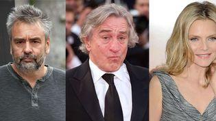 Luc Besson, Robert de Niro et Michelle Pfeiffer  (AP-SIPA / David Fisher-Rex Feat-REX-SIPA / MAZZARELLA-SINTESI-SIPA)