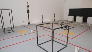 En 2013, l'expo Giocometti au Musée de Grenoble a remporté un grand succès.  (Greiner/PHOTOPQR/Le Dauphiné)