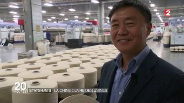 États_Unis : la Chine ouvre des usines