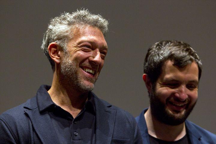 Vincent Cassel et Karim Leklou à Cannes le 12 mai 2018