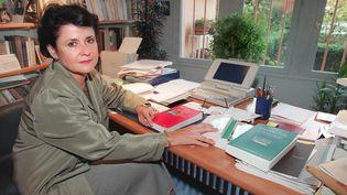 La philosophe Geneviève Fraisse, à Châtillon, le 21 novembre 1997. (JACK GUEZ / AFP)