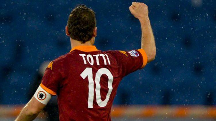 Francesco Totti (ANDREAS SOLARO / AFP)