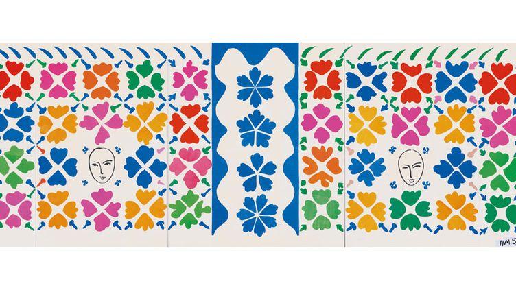 Henri Matisse, Grande composition aux masques, 1953, National Gallery of Art, Washington, Ailsa Mellon Bruce Fund 1973  (National Gallery of Art, Washington Artwork: © Succession Henri Matisse/DACS 2014)