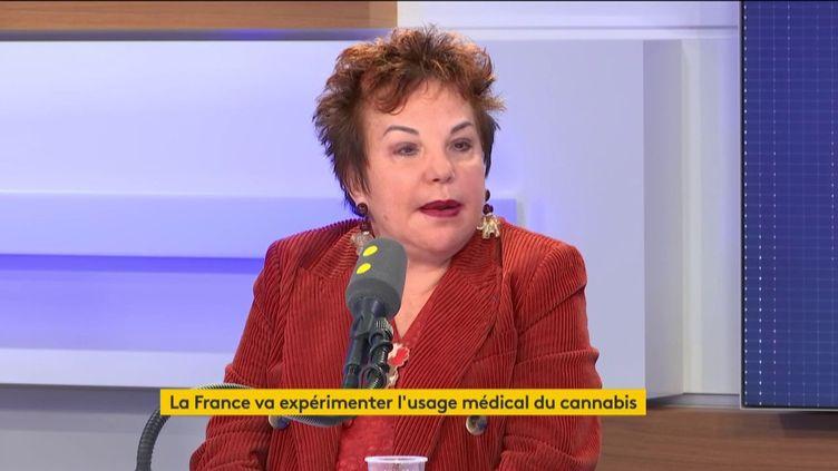 Esther Benbassa, sénatrice EELV de Paris, membre de la Commission des Lois, est l'invitée de franceinfo le 25 octobre 2019. (FRANCEINFO / RADIO FRANCE)