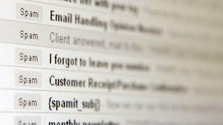 En 2005, la Cnil avait déjà pointé du doigt l'envoi de spams par l'UMP. (MIKE CLARK / AFP)