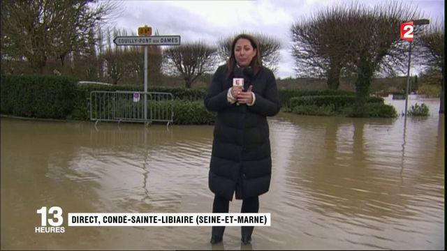Inondations à Condé-Sainte-Libiaire : où en est la crue ?