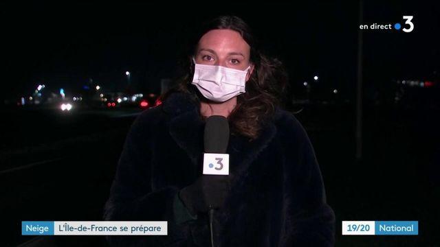 Neige : l'Île-de-France se prépare aux intempéries