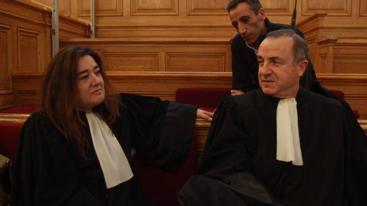 Me Francesca Satta, le 12 décembre 2011 à Saintes (Charente-Maritime). (RONAN CHÉREL / MAXPPP)