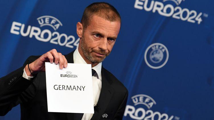 L'annonce du pays hôte pour l'Euro 2024 (SOEREN STACHE / DPA)