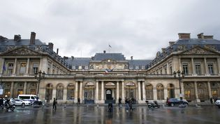 Le Conseil d'État à Paris, en 2014. (THOMAS SAMSON / AFP)