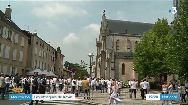 Mourmelon : les obsèques de Kevin