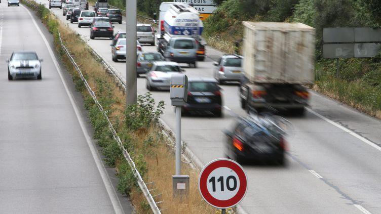 Sur les dixpremiers mois de l'année, le nombre de personnes décédées sur les routes de France métropolitaine reste supérieur de 0,8% à celui enregistré sur la période équivalente de l'année passée. (MAXPPP)