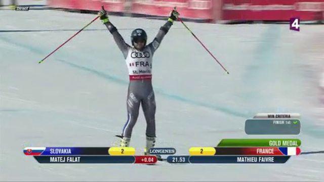 Ski alpin : les Bleus champions du monde par équipe à Saint Moritz