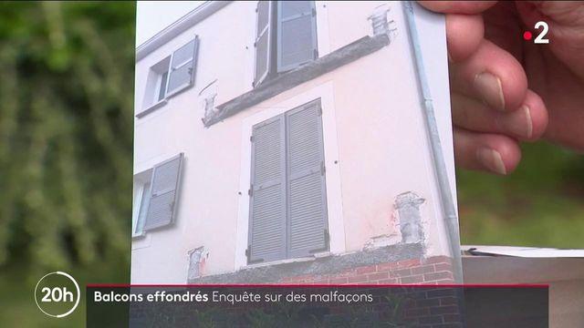 Logement : quand les balcons d'immeubles s'effondrent