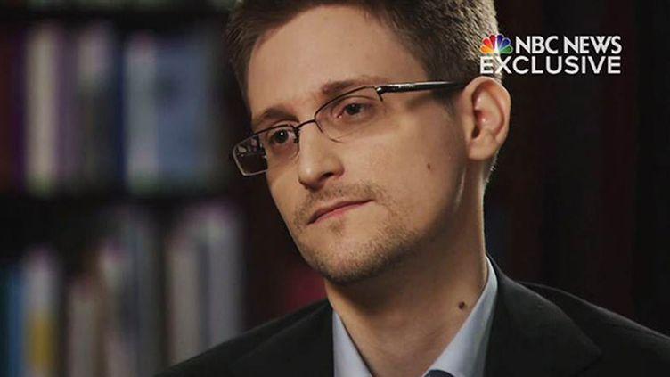 (© NBC - Edward Snowden a accordé mardi soir un entretien à la chaîne NBC, à Moscou, où il vit en exil.)