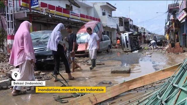 Inondations mortelles en Indonésie