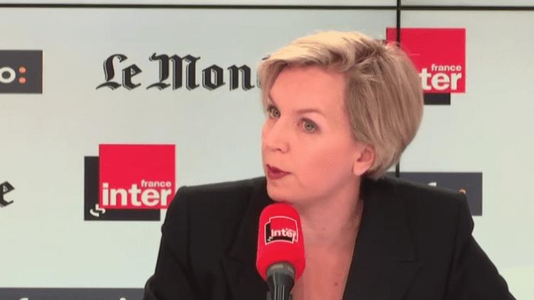Virginie Calmels était l'invitée de Questions politiques dimanche. (FRANCEINFO)