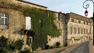 (La façade du musée Reattu côté Rhône © Colombe Clier)