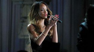 Rihanna aux Grammy Awards Show à L.A, le 10 février 2013  (John Shearer/Sipa)