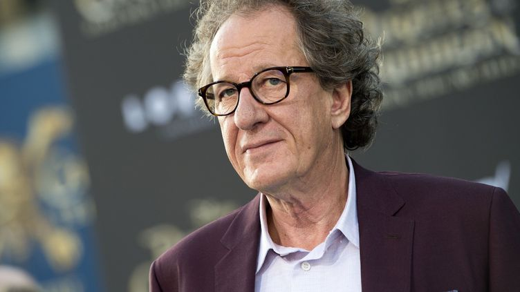 L'acteur australien Geoffrey Rush à Hollywood, Californie, le 18 mai 2017  (Valerie Macon / AFP)
