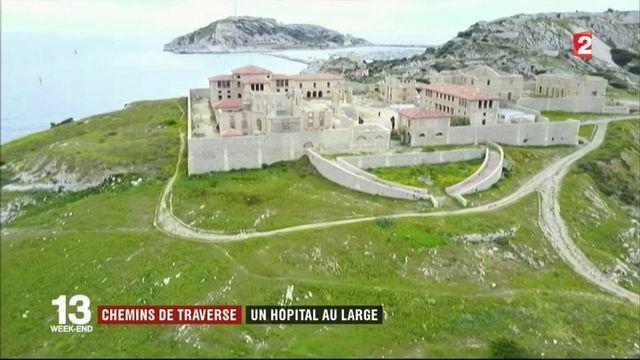 Patrimoine : au large de Marseille, l'histoire de l'Hôpital Caroline