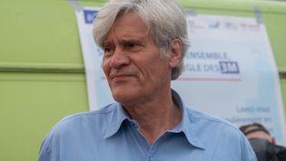 Stéphane le Foll, le maire PS du Mans (Sarthe), le 4 septembre 2021 à l'occasion de la Marche des fiertés dans sa ville. (ESTELLE RUIZ / HANS LUCAS)