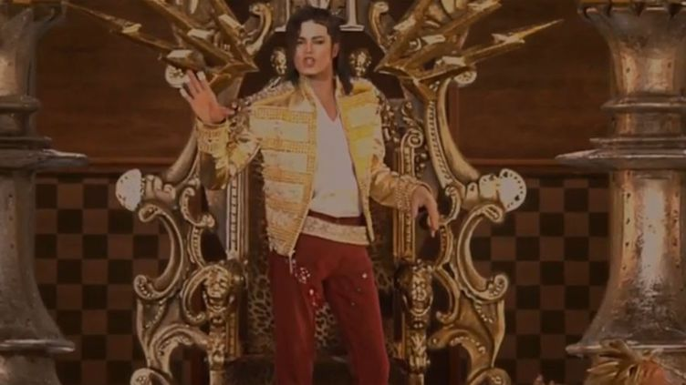 Michael Jackson en hologramme aux Billboard Music Awards (18 mai 2014)  (Capture écran YouTube)