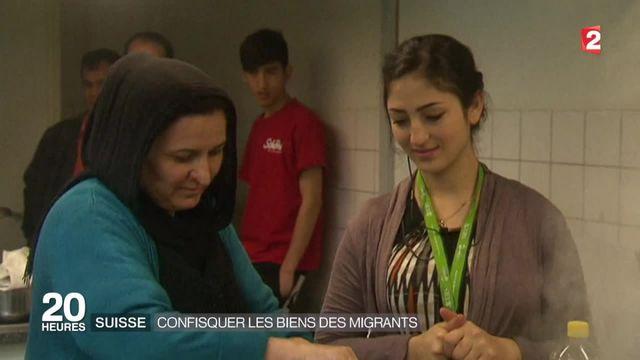 Suisse : les migrants prélevés à leur arrivée
