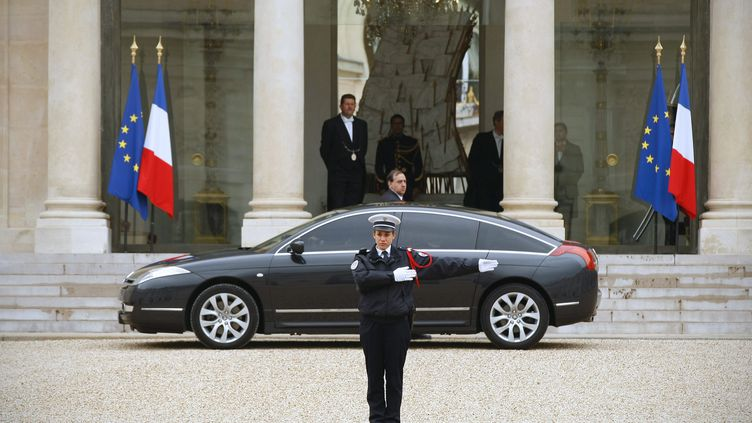 Palais de l'Élysée. (THOMAS PADILLA / MAXPPP)