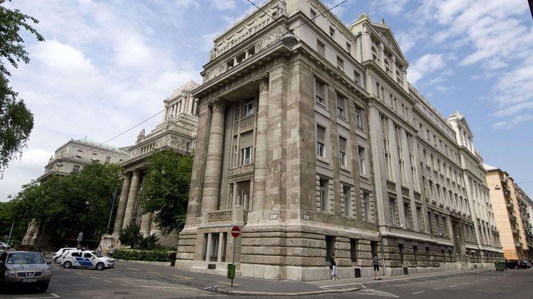 Le gouvernement hongrois a remplacé l'ancienne Cour suprême par la la Kúria (ici sur la photo), nouvelle institution similaire aux pouvoirs affaiblis. (Richard Sowersby / Rex / REX / SIPA)