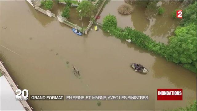Inondations : en Seine-et-Marne, avec les sinistrés