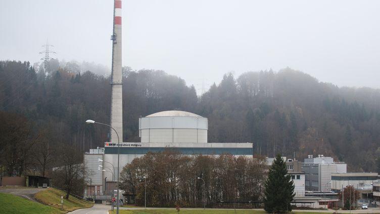 La centrale deMühleberg en Suisse. (XU JINQUAN / XINHUA)