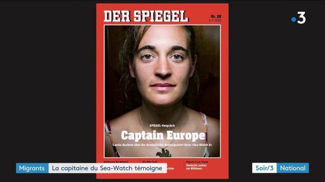 Migrants : la capitaine du Sea-Watch témoigne