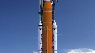 La fusée SLS (Space launch system) de la mission Artemis (NASA)