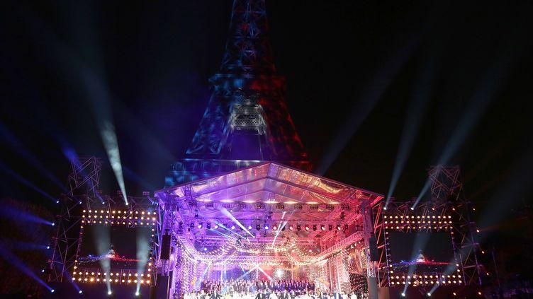 Le Concert de Paris du 14 juillet, ici en 2018. (JEAN-MARC HAEDRICH/SIPA)