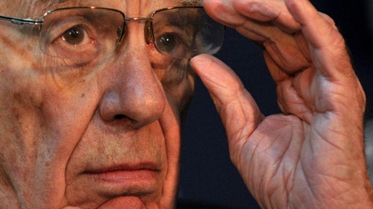 Le magnat de la presse, Rupert Murdoch. (AFP/FABRICE COFFRINI)