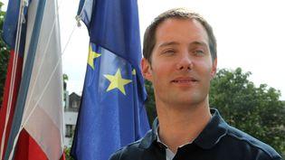 L'astronaute français Thomas Pesquet, le 20 mai 2009, à Paris. (PIERRE VERDY / AFP)