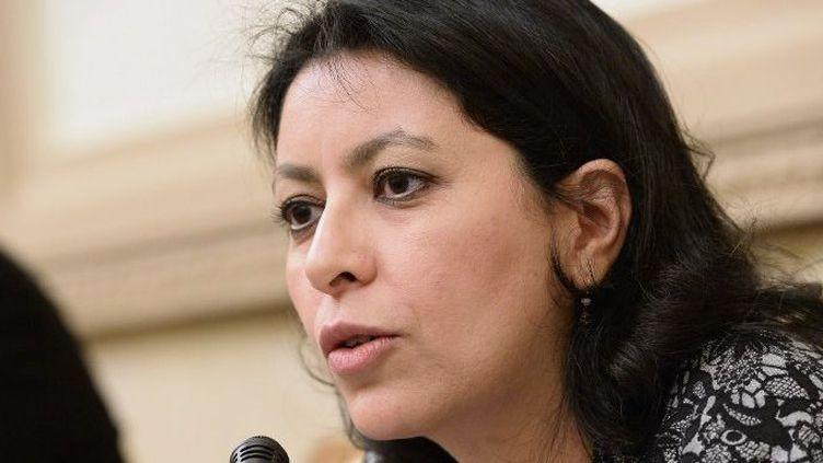 La sénatrice centriste Leila Aichi investie par La République En Marche pour la 9e circonscription des Français de l'étranger. (BERTRAND GUAY / AFP)