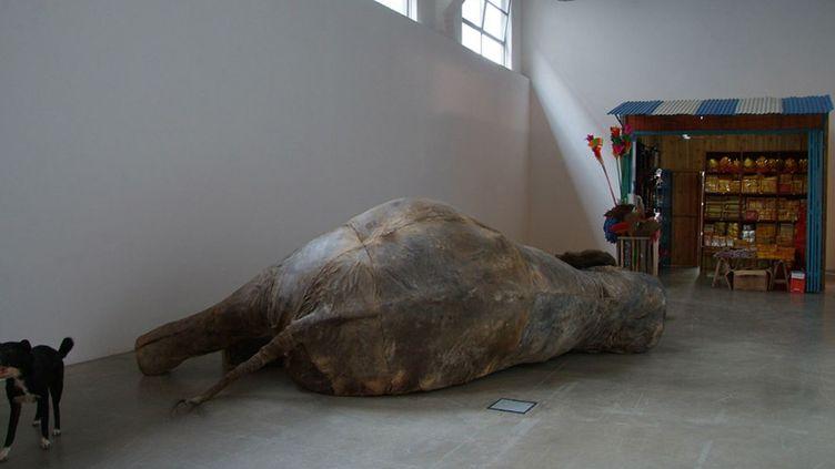 """Huang Yong Ping, """"Le Marché de Punya"""", 2007 /Courtesy de l'artiste et Kamel Mennour, Paris  (Adagp, Paris 2013)"""