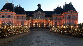 Le château deVaux-le-Vicomte (Seine-et-Marne), construit au 17e siècle, ci-contre en décembre 2020. (ANNE CHEPEAU / RADIO FRANCE)