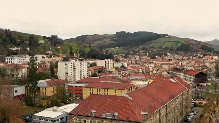 La ville de Tarare, dans le Rhône. (CAPTURE ECRAN FRANCE 2)