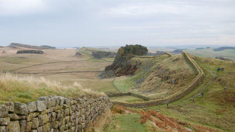 Des ruines antiques du mur d'Adrien en Grande-Bretagne. (DR)