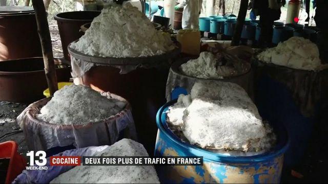Cocaïne : le trafic en France multiplié par deux